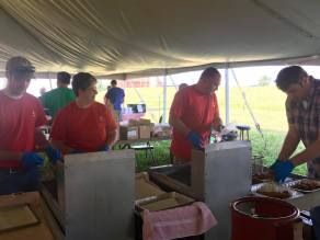 Volunteers make this event possible! 2017 Kewaunee County Breakfast on the Farm