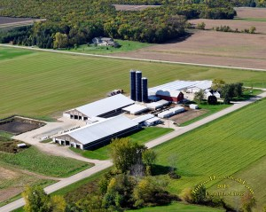 Junion Homestead Farm Aerial Photo - 2015