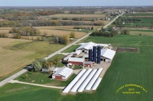 Junion Homestead Farm Aerial Photo - 2017
