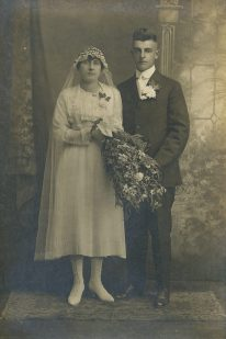 John & Josephine Deprey - Magdalene Junion's parents (Magdalene's 4th generation Junion Homestead Farm)