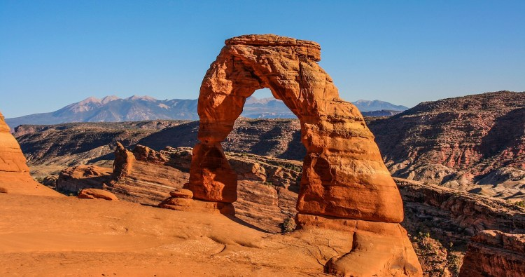 Delicate Arch in Arches National Park, Moab, Utah