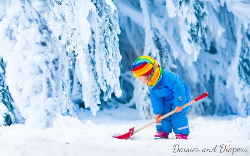 kids snow day activities