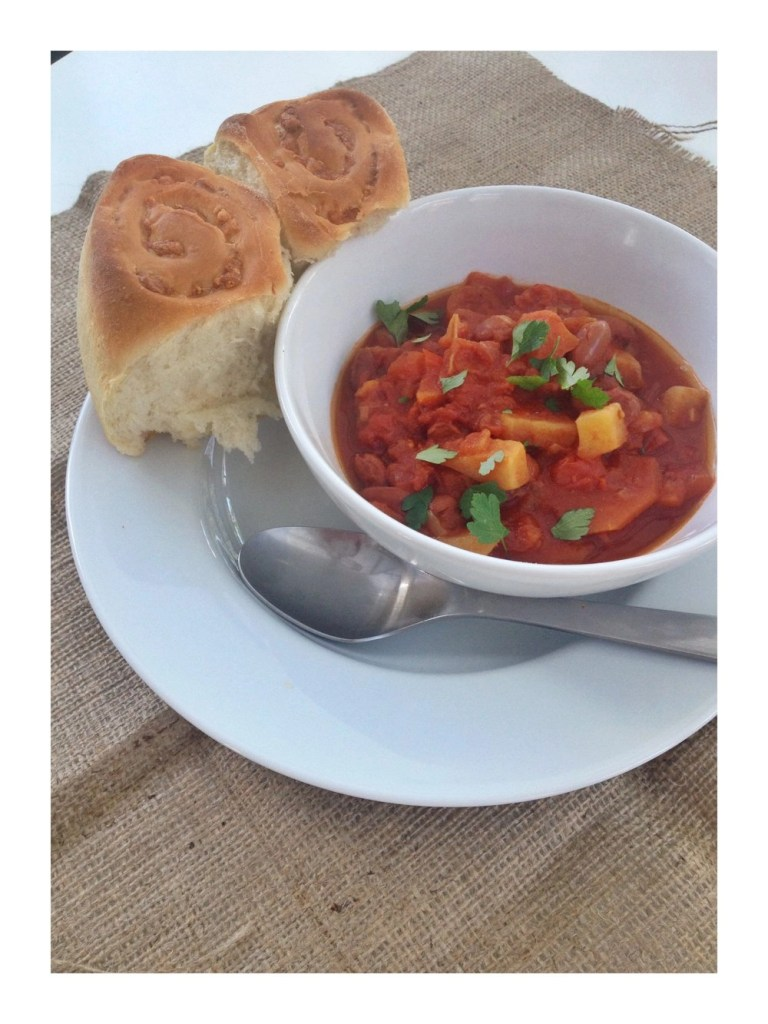 Summer BBQ beany stew