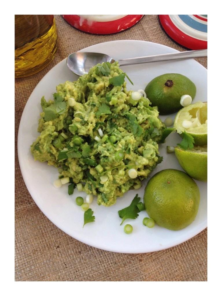 Fresh and zingy guacamole