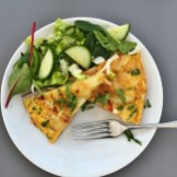Spanish omelette recipe, how to make Spanish omelette, easy family food, easy weeknight meals, easy family food from daisies and pie
