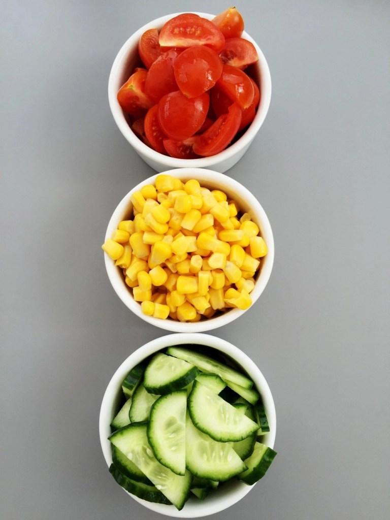 Traffic light salad