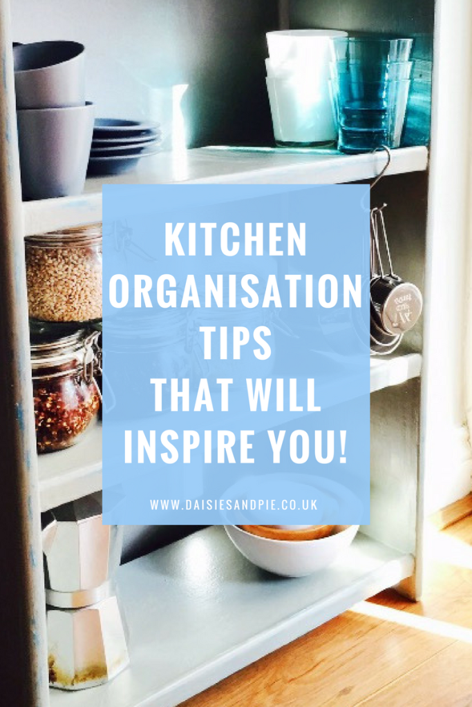 Kitchen organisation tips that will inspire you! Overhaul your kitchen to create a well organised amazingly useful space to be in, homemaking tips
