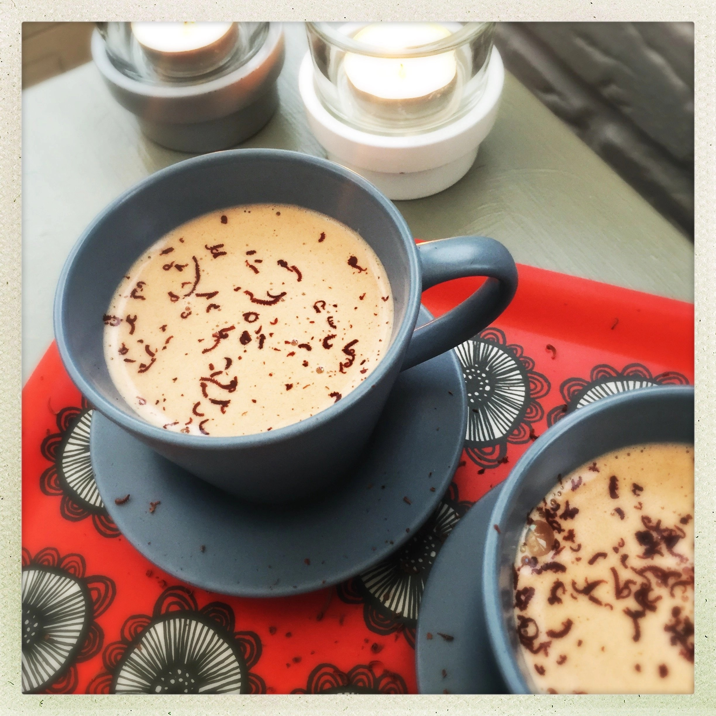 recipes for twenty super delicious hot drinks to warm you up during fall or winter!