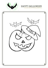 free halloween printable pumpkin picture, halloween printables for kindergarten kids