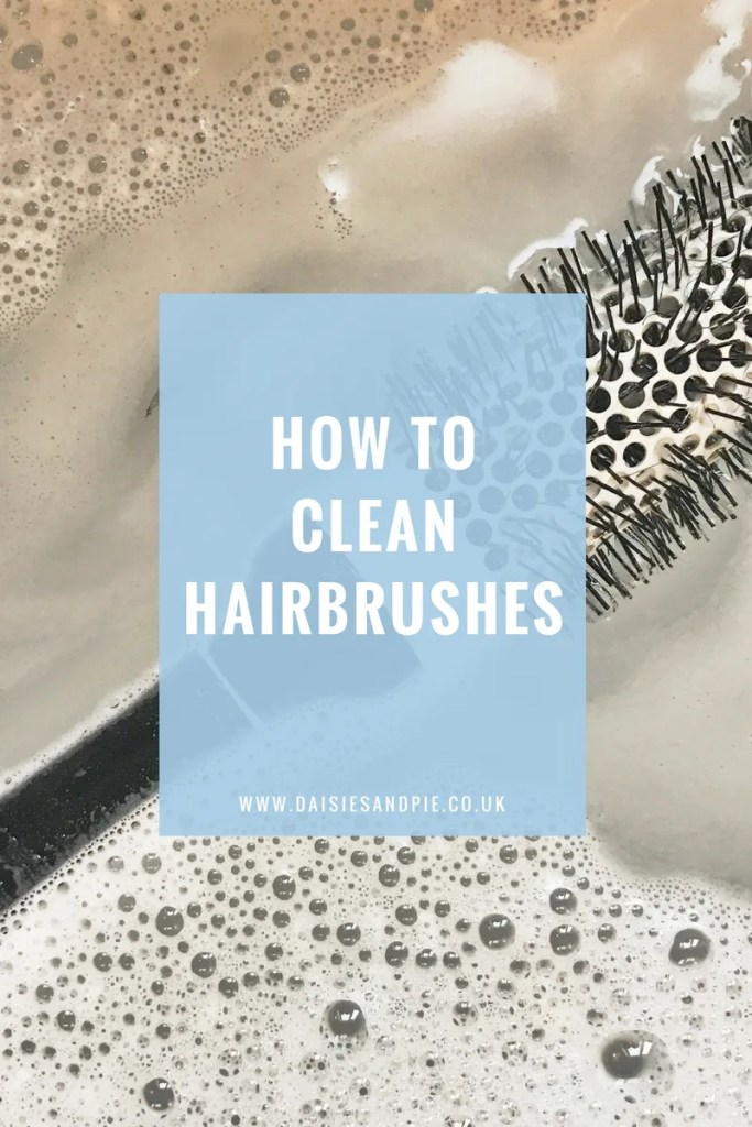 How to clean hair brushes