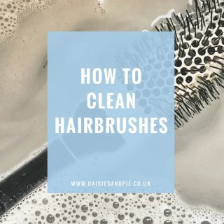 How to clean hairbrushes, green cleaning tips, beauty tips