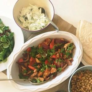 Moroccan Chicken Wrap Recipe, Easy chicken recipe