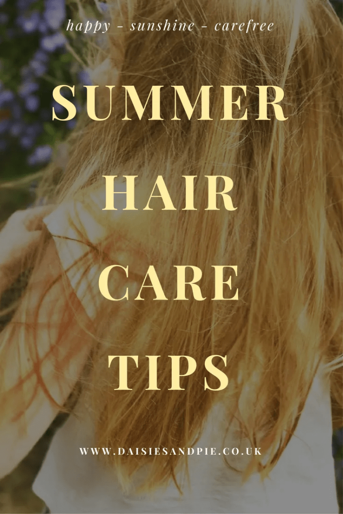 Summer hair care tips, health and wellbeing tips