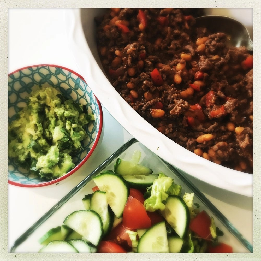 20 Minute Beef and Baked Bean Chilli