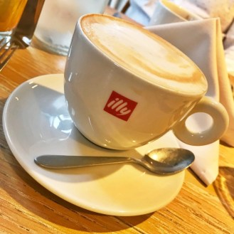 Coffee at George's Worsley, Places to Brunch Salford, Places to eat Manchester, restaurants Manchester, illy Coffee