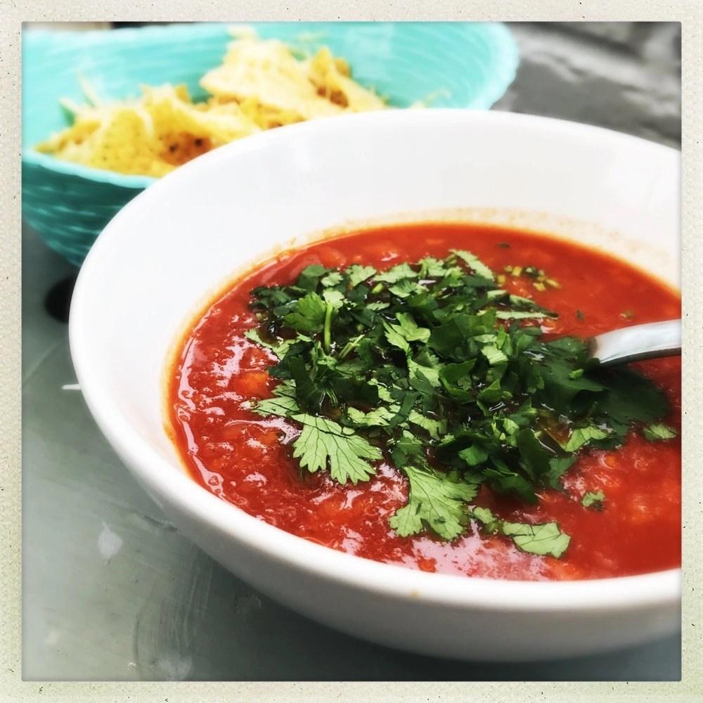 Easy Mexican Tortilla Soup