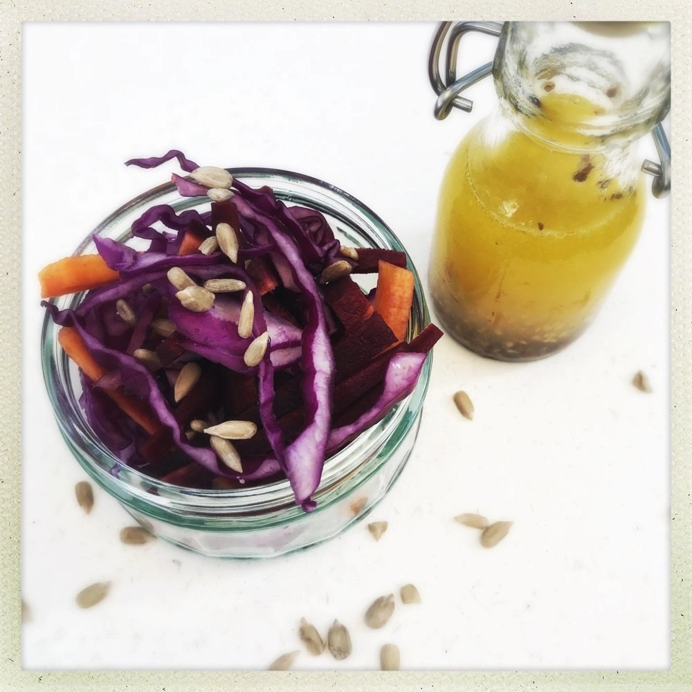 Homemade Healthy Coleslaw