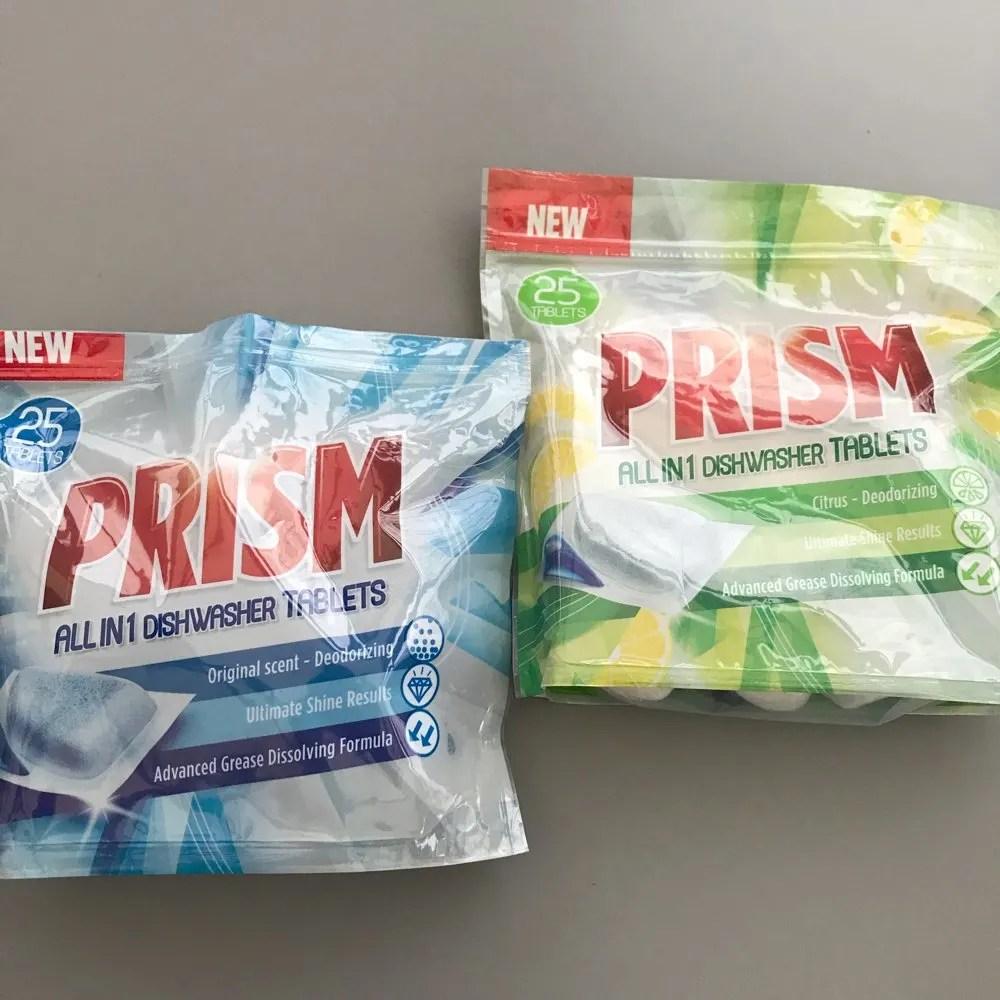 Prism Dishwasher Tablets Review