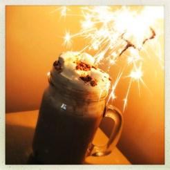 Super delicious salted caramel hot chocolate, hot chocolate recipes, treat night ideas