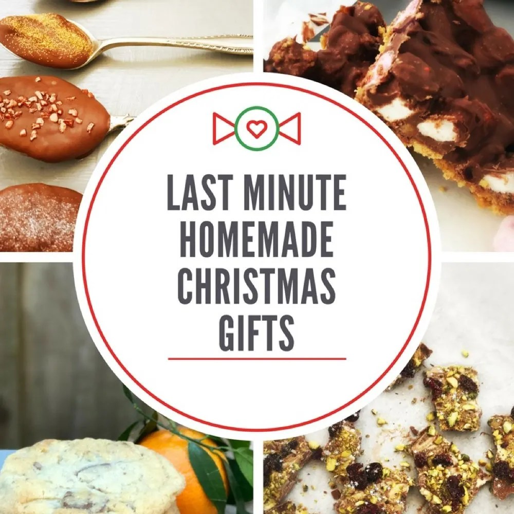Bake some last minute edible gifts