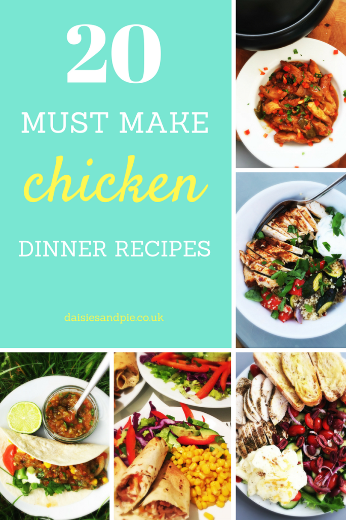 20 MUST MAKE chicken dinner recipes that your family will just LOVE!
