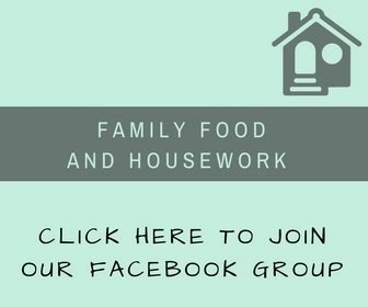 Family Food and Housework Facebook Group