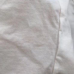 white shirt with spaghetti bolognese treated with ACE power mousse stain remover