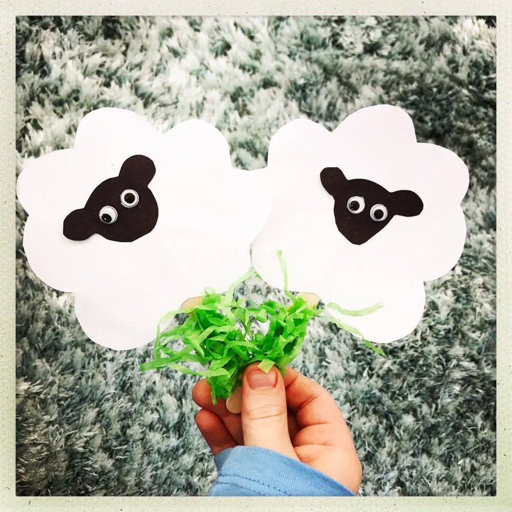 Easy Spring Lamb Craft for Kids