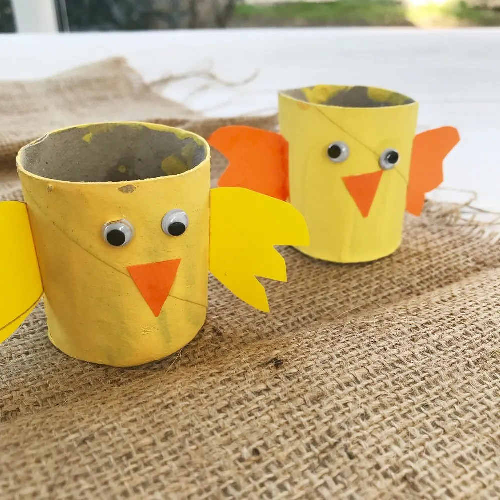 Spring Chick Craft for Kids