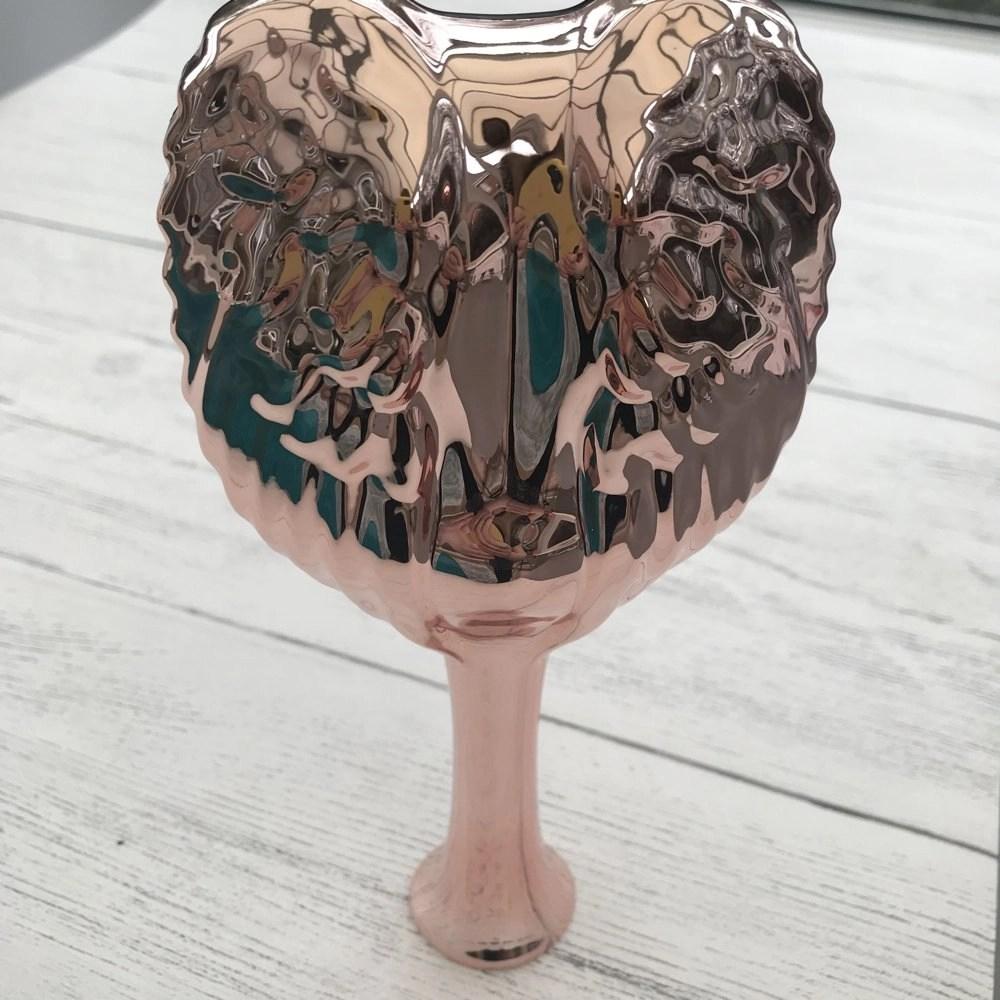 Tangle Angel Pro hair brush in metallic rose gold
