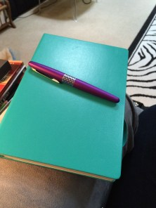 My Emerald Medium Dotted Leuchtturm 1917 and Pilot Metropolitan Retro Fountain Pen