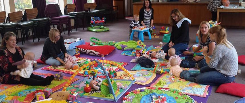 Questions all mums seem to ask each other at baby group