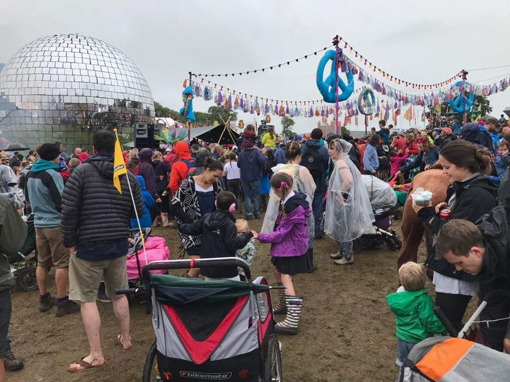 How to survive Camp Bestival in the rain