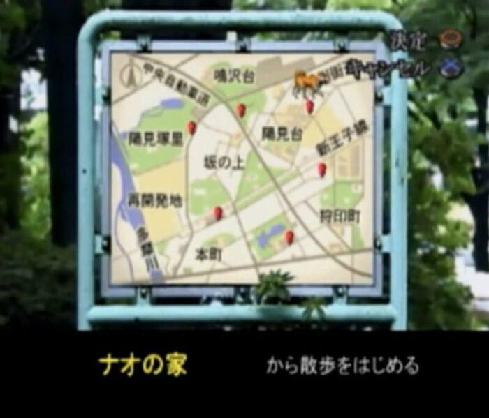 「夕闇通り探検隊」地図
