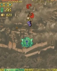 「エスプガルーダ」ステージ1-3ボス