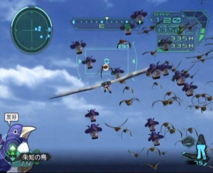 「トリノホシ」飛行モード4