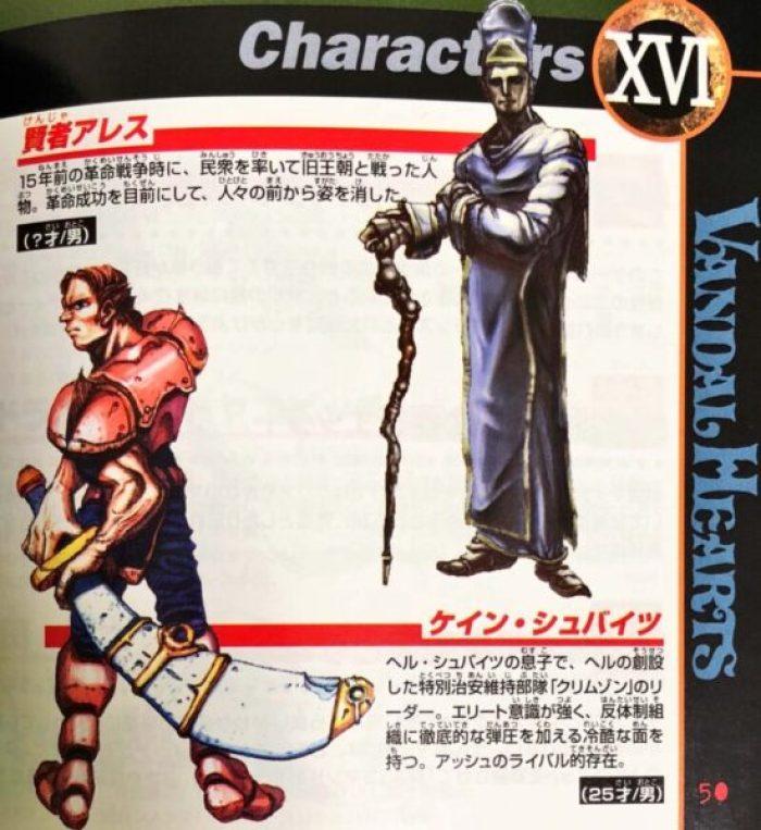 「ヴァンダルハーツ~失われた古代文明~」キャラクター8
