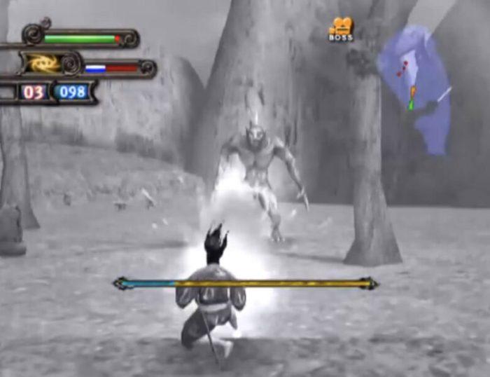 「どろろ(PS2版)」バトル4