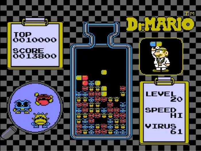 「ドクターマリオ」パズル5