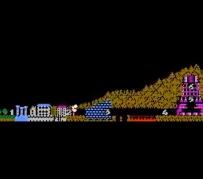 「魔界村」マップ