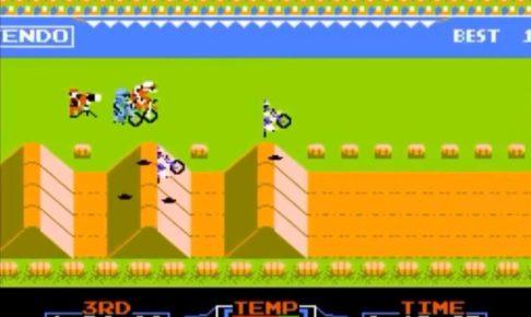 「エキサイトバイク」コース6