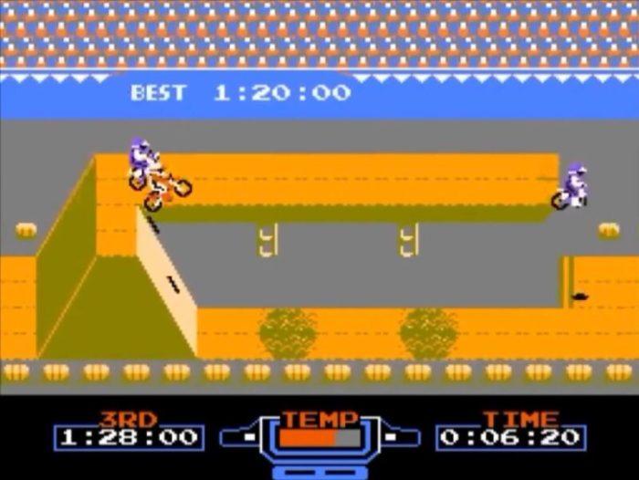 「エキサイトバイク」コース9