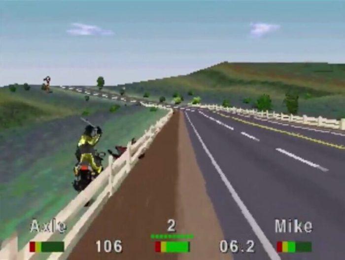 「ロードラッシュ」レース19
