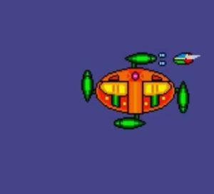 「ファンタジーゾーンGear オパオパJr.の冒険」ステージ2ボス