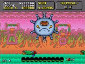 「スーパーファンタジーゾーン」ステージ6ボス