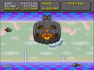 「スーパーファンタジーゾーン」ステージ8-1