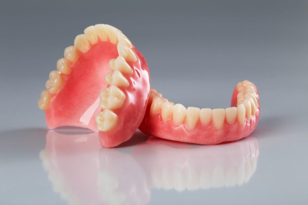 dental patient dentures in lake forest ca