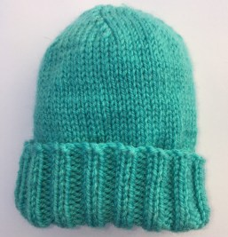 Quick and Easy Baby Hat Free Knitting Pattern