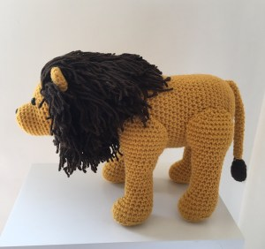 Free Amigurumi Crochet Pattern for Laurence the Lion ⋆ Crochet ... | 282x300