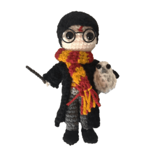 Free Mini Harry Potter Amigrumi Pattern